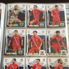 Cromos de Fútbol: LOTE 12 CROMOS RUSIA (COMPLETO) ADRENALYN XL EURO 2012. Lote 137116948
