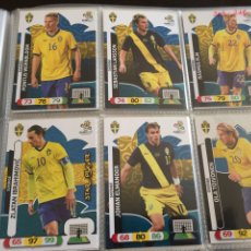 Cromos de Fútbol: LOTE 12 CROMOS SUECIA (COMPLETO) ADRENALYN XL EURO 2012. Lote 137117132