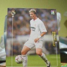 Cartes à collectionner de Football: PANINI MEGAFICHAS MEGA FICHAS 2003-2004 03 04 Nº 159 GUTI (REAL MADRID). Lote 137139158