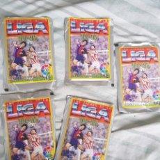 Cromos de Fútbol: SOBRES CROMOS SIN ABRIR LAS FICHAS DE LA LIGA MUNDICROMO 94 95. Lote 137164820