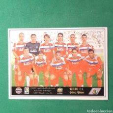 Cromos de Fútbol: (C-A07) MUNDICROMO FICHAS LIGA 2007 2008 / 07 08 - (GETAFE) N°218 ÍNDICE Y PLANTILLA. Lote 137172789