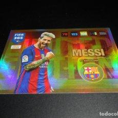 Cromos de Fútbol: LIONEL MESSI LIMITED EDITION FC BARCELONA CARD CROMOS ADRENALYN XL FIFA 365 2016 2017 16 17. Lote 137173306