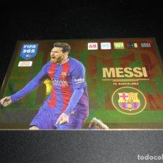 Cromos de Fútbol: LIONEL MESSI LIMITED EDITION FC BARCELONA CARD CROMOS ADRENALYN XL FIFA 365 2016 2017 16 17. Lote 137173338