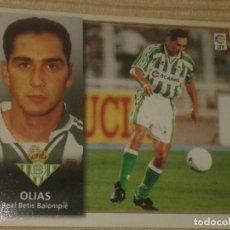 Cromos de Fútbol: CROMO OLIAS (REAL BETIS) LIGA 98-99 (1998 1999) ÁLBUM ESTE (SIN PEGAR). Lote 180422148