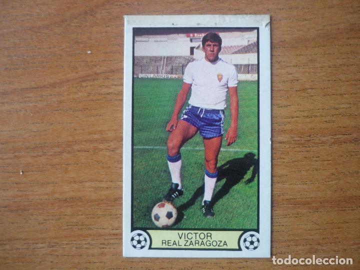 Usado, CROMO LIGA ESTE 79 80 VICTOR MUÑOZ (ZARAGOZA) - NUNCA PEGADO - FUTBOL 1979 1980 VER DESCR segunda mano