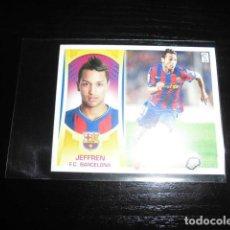 Cromos de Fútbol: JEFFREN. COLOCA F.C. BARCELONA. Nº 14 B. EDICIONES ESTE. LIGA 2009 - 2010 / 09 - 10.NUNCA PEGADO.. Lote 137254950