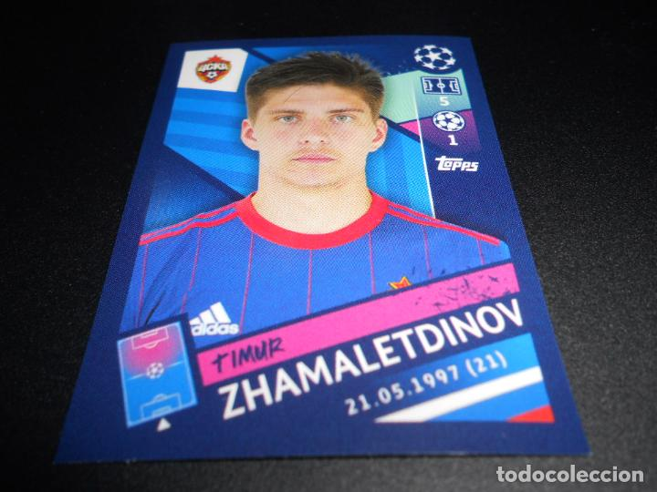 Sticker 400 Topps Champions League 18//19 Timur Zhamaletdinov