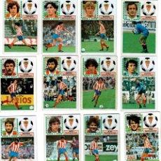 Cromos de Fútbol: LIGA 83/84. LOTE DE 16 CROMOS. REAL BETIS. EDICIONES ESTE. NUEVO BUEN ESTADO. VER FOTOS.. Lote 137485722