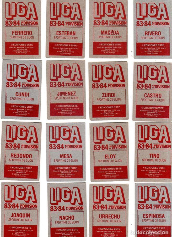 Cromos de Fútbol: LIGA 83/84. LOTE DE 16 CROMOS. REAL BETIS. EDICIONES ESTE. NUEVO BUEN ESTADO. VER FOTOS. - Foto 2 - 137485722