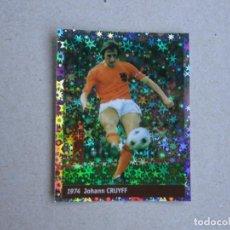 Cromos de Fútbol: WORLD CUP FRANCE 98 DS Nº 6 CRUYFF HOLANDA 1974 MUNDIAL FRANCIA 1998 NUEVO. Lote 270237493