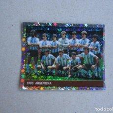 Cromos de Fútbol: WORLD CUP FRANCE 98 DS Nº 12 ALINEACION ARGENTINA 1986 MUNDIAL FRANCIA MARADONA 1998 NUEVO. Lote 270237458