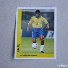 Cromos de Fútbol: WORLD CUP FRANCE 98 DS Nº 23 ALDAIR BRASIL MUNDIAL FRANCIA 1998 NUEVO. Lote 255600615