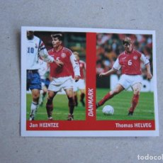 Cromos de Fútbol: WORLD CUP FRANCE 98 DS Nº 116 HEINTZE / HELVEG DINAMARCA MUNDIAL FRANCIA 1998 NUEVO. Lote 255601390