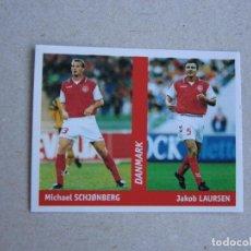 Cromos de Fútbol: WORLD CUP FRANCE 98 DS Nº 117 SCHJONBERG / LAURSEN DINAMARCA MUNDIAL FRANCIA 1998 NUEVO. Lote 255601760