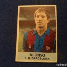 Cromos de Fútbol: CAMPEONATO DE FÚTBOL LIGA 1ª DIVISIÓN 1982-83 - EDICIONES MATEO MIRETE BARCELONA ALONSO. LEER.. Lote 137855370
