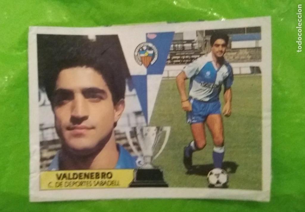 87/88 ESTE. SABADELL COLOCA VALDENEBRO (Coleccionismo Deportivo - Álbumes y Cromos de Deportes - Cromos de Fútbol)