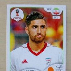 Cromos de Fútbol: 185 ALIREZA JAHANBAKHSH IRAN CROMO FIFA WORLD CUP RUSSIA 2018 PANINI. Lote 137980714
