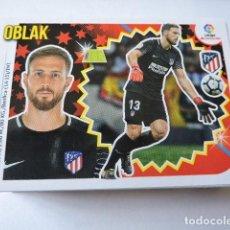 Cromos de Fútbol: OBLAK Nº 1 - ATLETICO - LIGA 2018 - 2019 18 19 - COLECCIONES ESTE PANINI. Lote 138656414