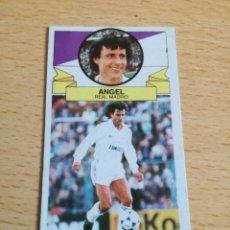 Cromos de Fútbol: ANGEL BAJA REAL MADRID, TEMPORADA 85/86, EDITORIAL ESTE, NUNCA PEGADO.. Lote 138713470