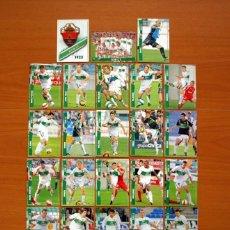 Cromos de Fútbol: ELCHE 2ª DIVISIÓN - LOTE DE 23 FICHAS DE LA LIGA 2007-2008, 07-08 - MUNDICROMO . Lote 138763582