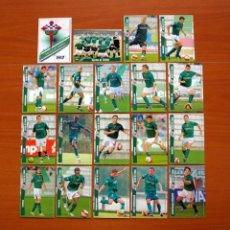 Cromos de Fútbol: RACING DE FERROL 2ª DIVISIÓN - LOTE DE 19 FICHAS DE LA LIGA 2007-2008, 07-08 - MUNDICROMO . Lote 138764422