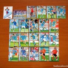 Cromos de Fútbol: CELTA DE VIGO 2ª DIVISIÓN - LOTE DE 21 FICHAS DE LA LIGA 2007-2008, 07-08 - MUNDICROMO . Lote 138778394