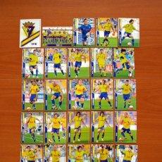 Cromos de Fútbol: CÁDIZ 2ª DIVISIÓN - LOTE DE 25 FICHAS DE LA LIGA 2007-2008, 07-08 - MUNDICROMO . Lote 138778802