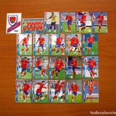 Cromos de Fútbol: NUMANCIA 2ª DIVISIÓN - LOTE DE 21 FICHAS DE LA LIGA 2007-2008, 07-08 - MUNDICROMO . Lote 138778990