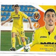 Cromos de Fútbol: EDICIONES ESTE PABLO FORNALS. Lote 138821214