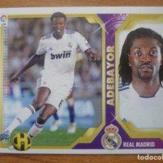 Cromos de Fútbol: ESTE 2011 2012 PANINI 16 B ADEBAYOR (REAL MADRID) BAJA - SIN PEGAR - CROMO FUTBOL LIGA 11 12. Lote 211409826