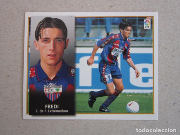 ESTE 98 99 FREDI EXTREMADURA 1998 1999 NUNCA PEGADO (Coleccionismo Deportivo - Álbumes y Cromos de Deportes - Cromos de Fútbol)
