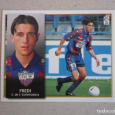 Cromos de Fútbol: ESTE 98 99 FREDI EXTREMADURA 1998 1999 NUNCA PEGADO. Lote 139393062