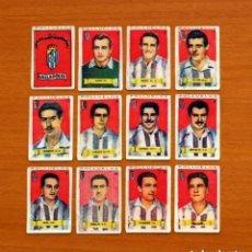 Cromos de Fútbol: VALLADOLID - EQUIPO COMPLETO - AZAFRÁN POLLUELOS 1949-1950, 49-50 - NOVELDA - NUNCA PEGADOS. Lote 139441878