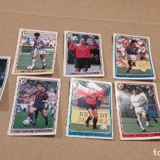 Cromos de Fútbol: CROMOS FÚTBOL....FÚTBOL 92/93...PANINI....LOTE DE 8 CROMOS..... Lote 139523394