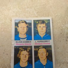 Cromos de Fútbol: CROMO MUNICH 74 - N°56 ALEMANIA ORIENTAL - FHER. Lote 139551537