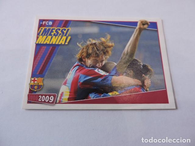 FC BARCELONA 2008/2009 - 142 - BARÇA - MESSI MANIA - PANINI (Coleccionismo Deportivo - Álbumes y Cromos de Deportes - Cromos de Fútbol)
