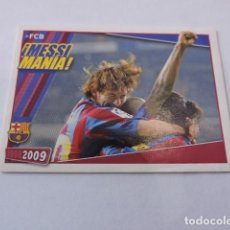 Cromos de Fútbol: FC BARCELONA 2008/2009 - 142 - BARÇA - MESSI MANIA - PANINI. Lote 139675858