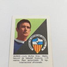 Cromos de Fútbol: CROMO MUÑOZ CD SABADELL ALBUM FHER DISGRA LIGA 70-71 1970 1971 FUTBOL SIN PEGAR.. Lote 140020097