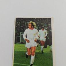 Cromos de Fútbol: CROMO NETZER REAL MADRID ALBUM LIGA FUTBOL 1975 1976 75 76 SIN PEGAR.. Lote 140023210