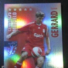 Cromos de Fútbol: GERRARD LIVERPOOL SHOOT OUT 2006 2007 06 07 CROMO NUEVO MAGIC BOX. Lote 143153337