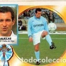 Cromos de Fútbol: LIGA 94/95. BAJAS. SALILLAS. REAL C. CELTA DE VIGO.. EDICIONES ESTE. NUEVO BUEN ESTADO.. Lote 140220234