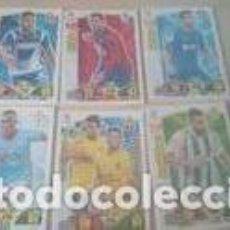 Cromos de Fútbol: LOTE CROMOS + SOBRES SIN ABRIR. Lote 140296778