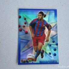 Cromos de Fútbol: MUNDICROMO TOP LIGA 2006 VERSION BRILLO MATE 05 06 Nº 109 MARQUEZ BARCELONA 2005 2006 NUEVO. Lote 140495498