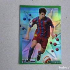 Cromos de Fútbol: MUNDICROMO TOP LIGA 2006 VERSION BRILLO MATE 05 06 Nº 181 MESSI BARCELONA 2005 2006 NUEVO. Lote 140508270