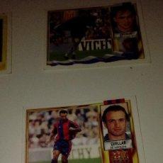 Cromos de Fútbol: C-KISS80 LIGA EDICIONES ESTE 1995 1996 95 96 FUTBOL SIN PEGAR BARCELONA CUELLAR. Lote 140577782