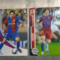 Cromos de Fútbol: CROMOS MESSI LOTE 2 ESCASOS. Lote 140607356