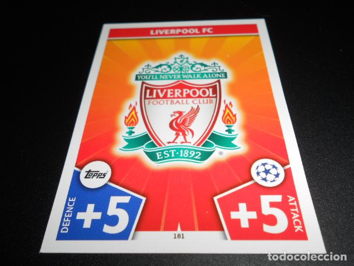 181 Escudo Logo Liverpool Fc Cards Champions Le Buy Old Football Stickers At Todocoleccion 140639902