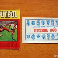 Cromos de Fútbol: 2 SOBRES DE CROMOS VACIOS, SIN CROMOS - EDITORIAL RUIZ ROMERO 1969-1970, 69-70 Y 1972-1973, 72-73. Lote 141159194
