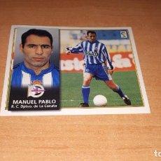 Cromos de Fútbol: CROMO MANUEL PABLO. Lote 141161710