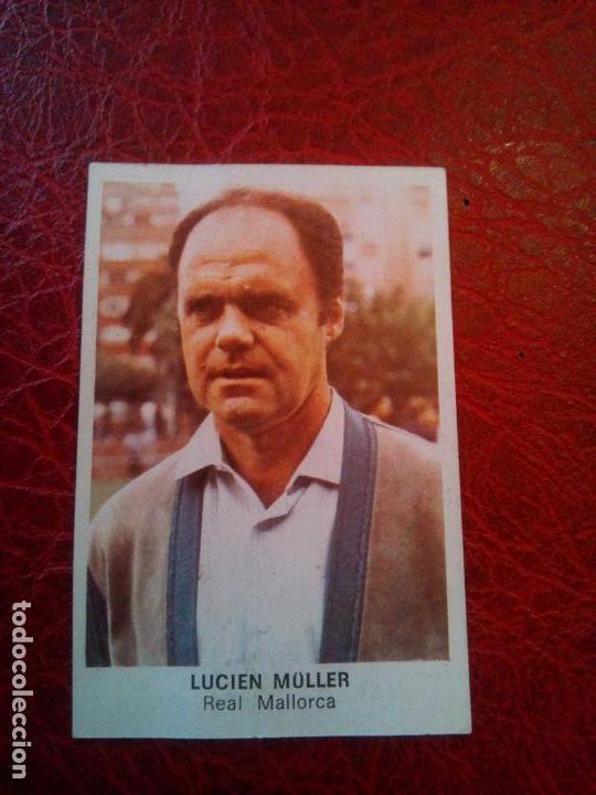 LUCIEN MULLER MALLORCA ED CANO CROPAN 83 84 CROMO FUTBOL LIGA 1983 1984 - DESPEGADO - 590 (Coleccionismo Deportivo - Álbumes y Cromos de Deportes - Cromos de Fútbol)